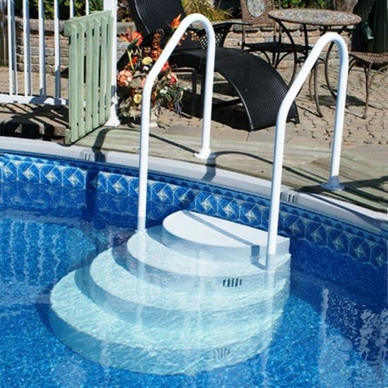 The Classic Abg Step With Two Mb00013 Pool Amp Spa Parts